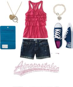 Aeropostale obsession p.s i have the shoes.