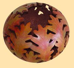 Suzi's leaf bowl gourd