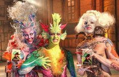 Ganadores Concurso Maquillaje Corporal Carnaval 2013 Las Palmas de Gran Canaria.