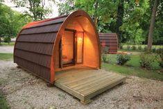 le Pod : la petite cabane en bois d'épicéa, version moderne et luxueuse de la traditionnelle toile de tente !