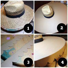 La Muerte Hat & Face Paint Tutorial | Crafty Chica