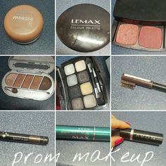 My prom makeup :) step by step