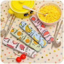 Momoi - Travel Tableware Set: Spoon + Chopsticks