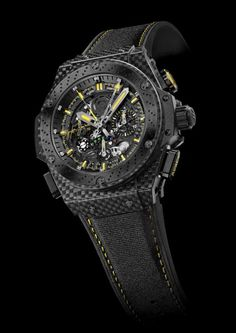 King Power Tourbillon Ayrton Senna - Swiss Luxury Watches | Hublot