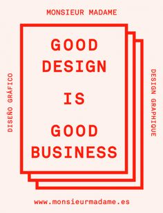 Good Design Is Good Business