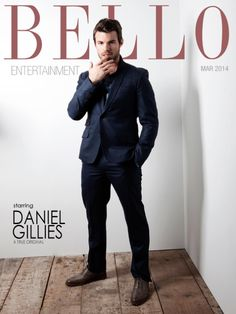 Daniel Gillies makes the suit look darn good on the March 2014 cover of Bello Mag! Daniel Gillies, Elijah The Originals, Vampire Diaries The Originals, Originals Cast, Fashion Cover, Joseph Morgan, Claire Holt, Suit And Tie, Pretty People