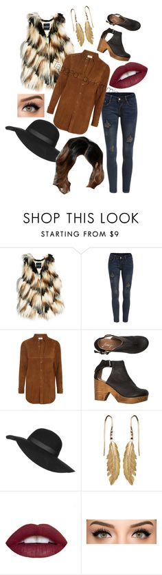 """""""Untitled #213"""" by taggedbykimmie15 on Polyvore featuring GUESS by Marciano, Yves Saint Laurent, Free People, Topshop, women's clothing, women's fashion, women, female, woman and misses"""