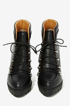 Report Poe Lace-Up Ankle Boot - Shoes   Heels   Ankle   Lace-Up