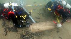 «La Juliana»Excavación de La Juliana en el lecho marino frente a la playa de Streedagh, en el condado de Sligo, al noroeste de Irlanda.