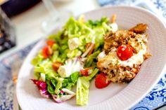 Köttfärsgratäng med mozzarella och färsk oregano - 56kilo.se | LCHF Recept & Livets goda