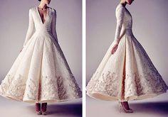 Vanilla bean // Ashi Studio Spring/Summer 2015 Haute Couture