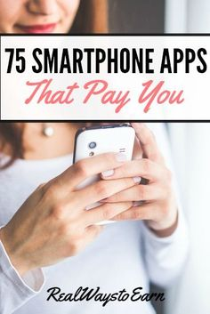 Wow! Check out this HUGE list of smartphone apps that pay.