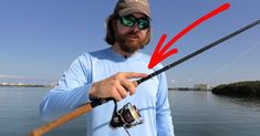 Here Is Where To Grip A Spinning Rod During The Retrieve