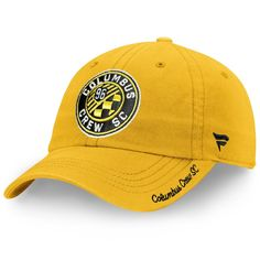 low priced 6a0b5 735bc Columbus Crew SC Fanatics Branded Women s Fundamental Adjustable Hat –  Yellow