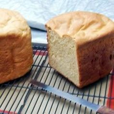 Honey Whole Wheat Bread - Allrecipes.com - the BEST sandwich bread machine recipe I've found yet.