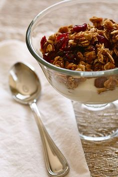 pumpkin spice granola from Annie's Eats blog; made it last fall; getting ready to make another batch for this year!