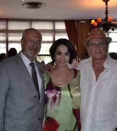 Desembargador José Renato Nalini, Presidente do Tribunal de Justiça de São Paulo, Claudia Matarazzo e José Gayegos - o nome da moda no Brasil.
