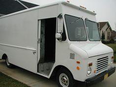 GMC Step Van photos, picture # size: GMC Step Van photos - one of the models of cars manufactured by GMC Chevrolet Trucks, Chevy, Gmc Vans, Step Van, Panel Truck, Cool Vans, Old Trucks, My Ride, Camper Van
