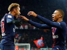 030c0fe01 Kylian Mbappe Neymar steer PSG to new win record on troubled day Cricket  News