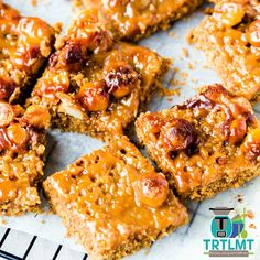 Anzac Caramel Macadamia Slice - The Road to Loving My Thermo Mixer My Recipes, Cooking Recipes, Favorite Recipes, Milk Roll, Aussie Food, Golden Syrup, Meals For One, Food Print, Caramel