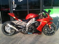 2009 Kawasaki ZX10R - before