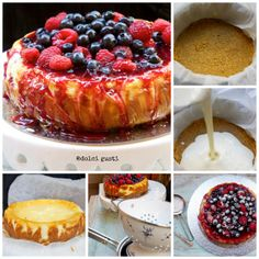 classic baked cheesecake di Donna Hay