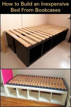 Bed Frame Under Bed Storage Bed Frame Twin No Box Spring Needed