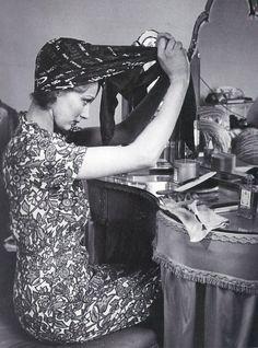 Hair wrap, 1940s