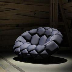 Quilt - Inflatable Sofa by Ronan and Erwan Bouroullec