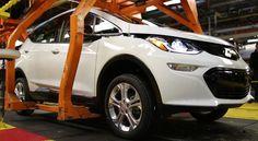 GM показала видео рабочего конвейера Chevrolet Bolt 2017