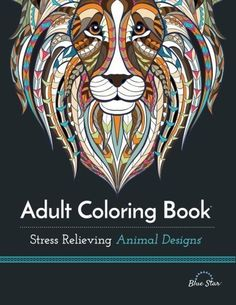 """Full of stunning, imaginative, very detailed, highly decorated, animal drawings,"" Stress Relieving Animal Designs Volume 2 features more than 40 coloring pages designed for adults. The intricate illustrations range in complexity from beginner to advanced-level, and includes animals from the jungle, from the seas, as well as those in other habitats, too.    Enjoy hours of stress relieving creativity that calms the mind and results in a fun trip back to childhood, too. The Skimm calls it ""Our…"