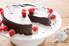 Flourless Chocolate Cake with Dark Chocolate Glaze   Whole Foods Market