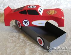 Stamp-n-Design: Race Car Box!