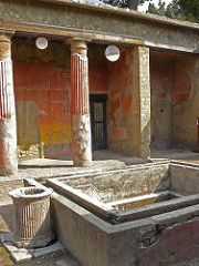 Herculaneum, near Pompeii Complete two-story structures still intact. Ancient Ruins, Ancient Artifacts, Ancient Rome, Ancient Greece, Ancient History, Mayan Ruins, European History, American History, Pompeii Italy
