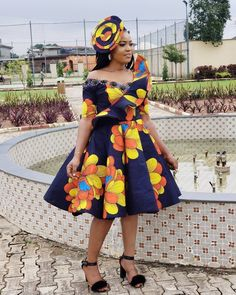 Latest, Trendy Ankara Fashion And Styles Dresses For The Pretty Ladies: 2019 African Fashion Styles! The best Ankara Fashion And Styles Dresses we've African Fashion Ankara, Latest African Fashion Dresses, African Print Fashion, Africa Fashion, African Style, Short African Dresses, African Print Dresses, African Prints, African Fabric
