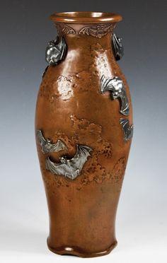 Monumental porcelain vases