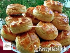 Hungarian Recipes, Pretzel Bites, Baked Potato, Biscuits, Bakery, Food And Drink, Healthy Eating, Cooking Recipes, Bread