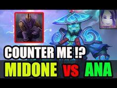 Try Counter Me ? Midone vs Ana [Dota 2] Patch 7.06e