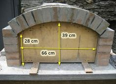 Oven with fireproof stones with rectangular bottom (construction .- Oven with fireproof bricks with rectangular bottom (construction) page 2 So …, # refractory - Wood Oven, Wood Fired Oven, Wood Fired Pizza, Build A Pizza Oven, Pizza Oven Outdoor, Brick Oven Outdoor, Pizza Oven Fireplace, Oven Diy, Oven Design