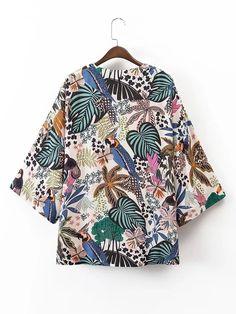 Textile Patterns, Print Patterns, Bowling Shirts, Tropical Pattern, Boho, Fashion Prints, What To Wear, Kimono Top, Ideas
