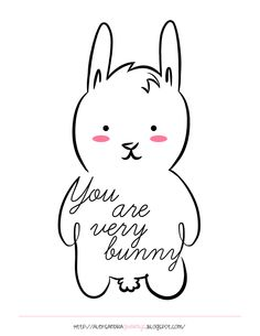 """I am funny, but """"You are very bunny""""  #doodlaki"""