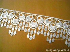 Hey, I found this really awesome Etsy listing at https://www.etsy.com/listing/88091823/venice-white-lace-applique-2-yards-white