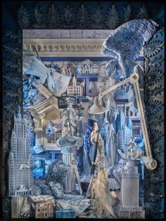 """Escaparates de Navidad 2014: escaparates """"encantados"""" en Nueva York… #BergdorfGoodman #christmas"""