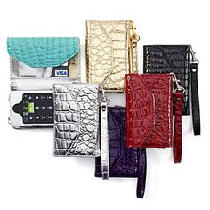 Need this! Wristlet which has space for iphone, 3 cards, and money. Want the turquoise!