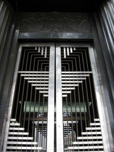 Art Deco Front Doors | deco doors -