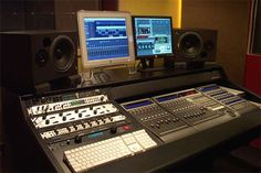 Argosy Desk with Mackie Control