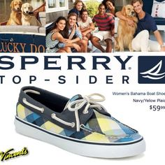 Plaid Fab with Sperry at Vincent's for only $59.99