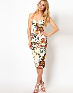 #webwant DDGDaily's editor's shopping list! Ted Baker Floral Midi Dress