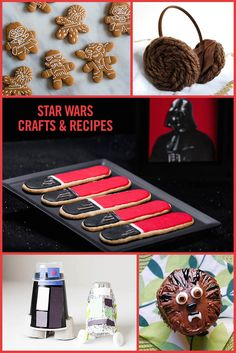 "With the premiere of ""Star Wars: The Force Awakens,"" our minds have been focused like a Jedi's on all things Star Wars. From fun crafts to tasty recipes, we're bringing our favorite film into our homes in a variety of creative ways. Fear not — now you can, too!"