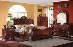 Abramson 4 Pcs California King Bedroom Sets - Pearl Igloo - 4
